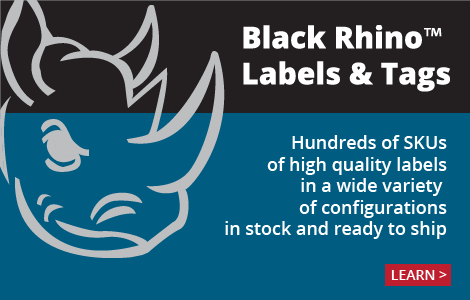 Learn about Black Rhino stock labels and tags