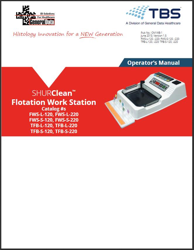 Flotation Work Station Operator Manual