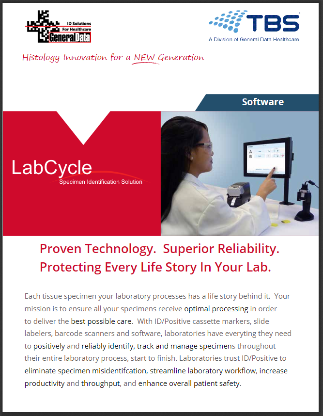 LabCycle Software Product Brochure