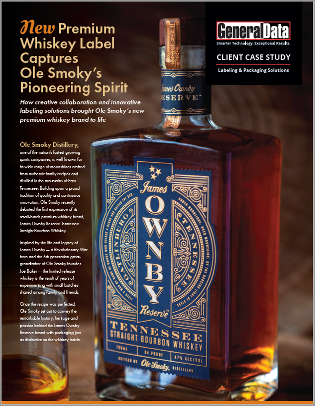 Ole Smoky's James Ownby Whiskey Label Case Study