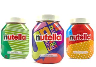 Nutella unique packaging designs