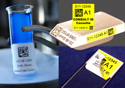 Consult-ID & CryoDentity Lab Labels