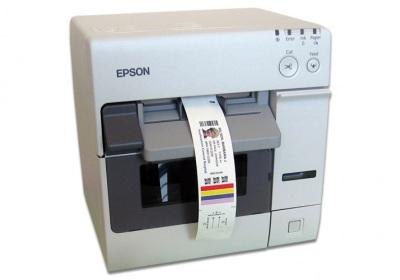 Epson Colorworks C3500 Color Inkjet Label Printer For Healthcare