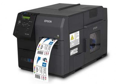 Epson Colorworks C7500 Color Inkjet Label Printer