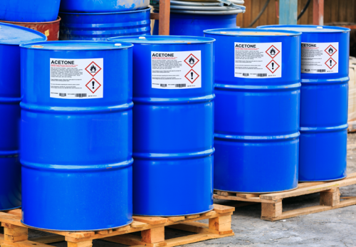 GHS Chemical Drum Labels