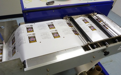 digital custom label printing