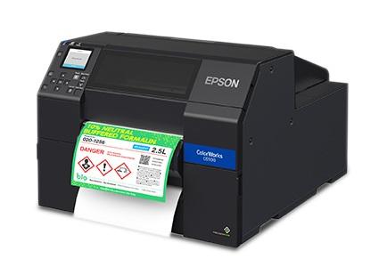 Epson ColorWorks C6500 - GHS Compliant Label Printer