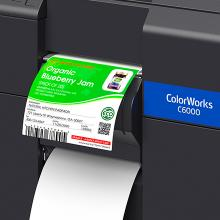 Its Easy To Print Color Labels On-Demand With The Epson Colorworks C6000 Color Inkjet Label Printer