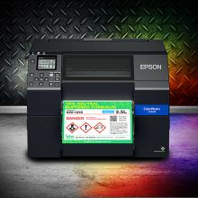 Epson's C6000 and C6500 Color Inkjet Label Printers are Tough
